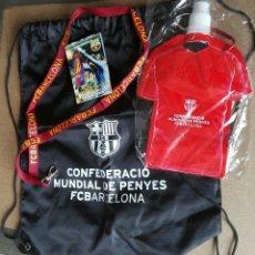 Coleccionismo deportivo: MOCHILA Y CANTIMPLORA FCB. Lote 180297313