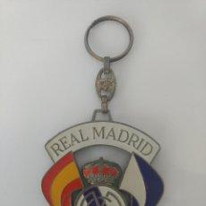 Coleccionismo deportivo: LLAVERO FUTBOL ORGULLO ESPAÑOL REAL MADRID CAMPEON. Lote 107444143
