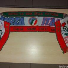 Coleccionismo deportivo: ANTIGUA BUFANDA FORZA ITALIA. Lote 107801287