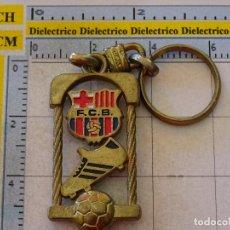 Coleccionismo deportivo: LLAVERO DEL FÚTBOL CLUB BARCELONA. ESCUDO BOTA. Lote 107942899