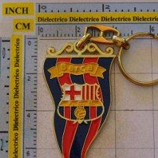 Coleccionismo deportivo: LLAVERO DEL FÚTBOL CLUB BARCELONA. ESCUDO BANDERÍN ESTANDARTE. Lote 107943015