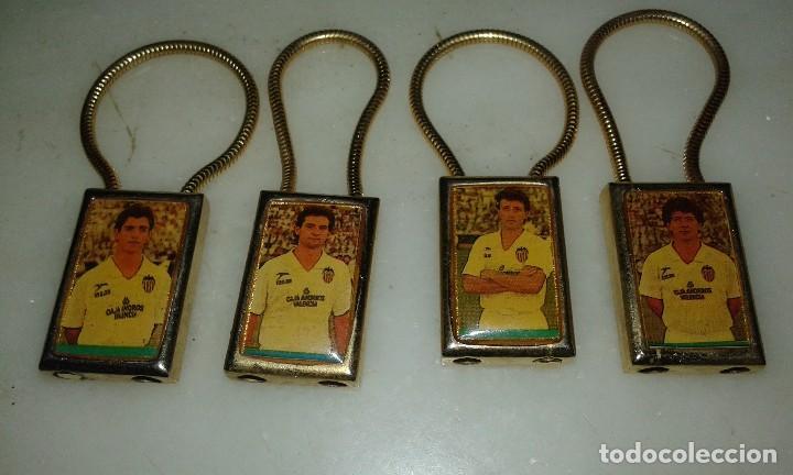 LLAVEROS JUGADORES VALENCIA (Coleccionismo Deportivo - Merchandising y Mascotas - Futbol)
