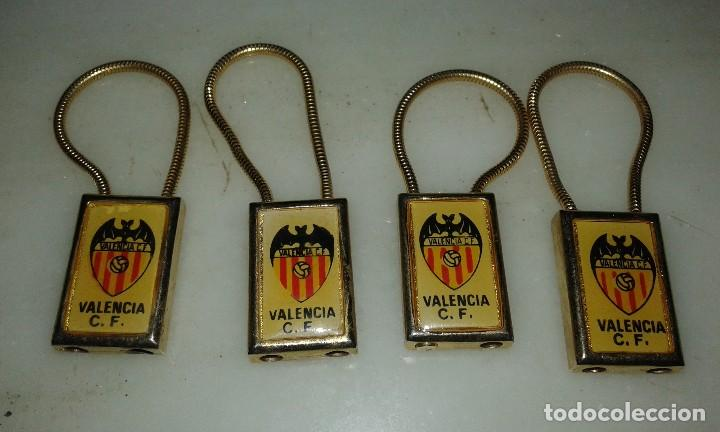 Coleccionismo deportivo: Llaveros jugadores Valencia - Foto 2 - 108075043