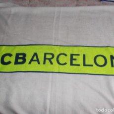 Coleccionismo deportivo: BUFANDA F C BARCELONA AÑOS '90. Lote 109154731