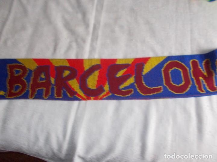 Coleccionismo deportivo: BUFANDA DE F.B. BARCELONA Años '90 - Foto 2 - 109250431