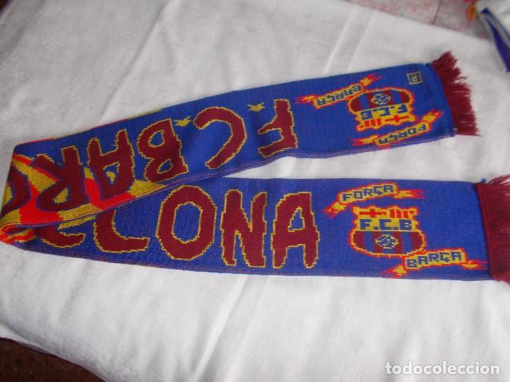 Coleccionismo deportivo: BUFANDA DE F.B. BARCELONA Años '90 - Foto 3 - 109250431