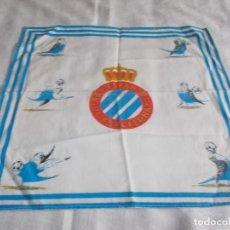 Coleccionismo deportivo: PAÑUELO DEL R. C D.ESPANYOL DE BARCELONA . Lote 109251703