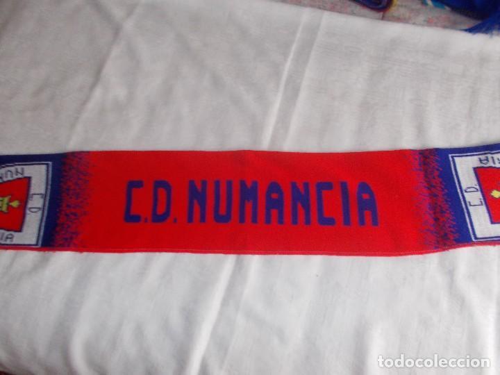 BUFANDA C.D. NUMANCIA (Coleccionismo Deportivo - Merchandising y Mascotas - Futbol)