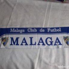 Coleccionismo deportivo: BUFANDA MALAGA CLUB DE FUTBOL AÑOS '90 . Lote 109305371