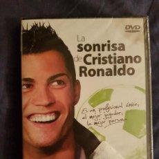 Coleccionismo deportivo: DVD DOCUMENTAL DE LA VIDA DE CRISTIANO RONALDO. NUEVO. PRECINTADO. Lote 110677843