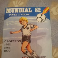 Coleccionismo deportivo: MUNDIAL 82 - PINTA A COLOR. Lote 110683119