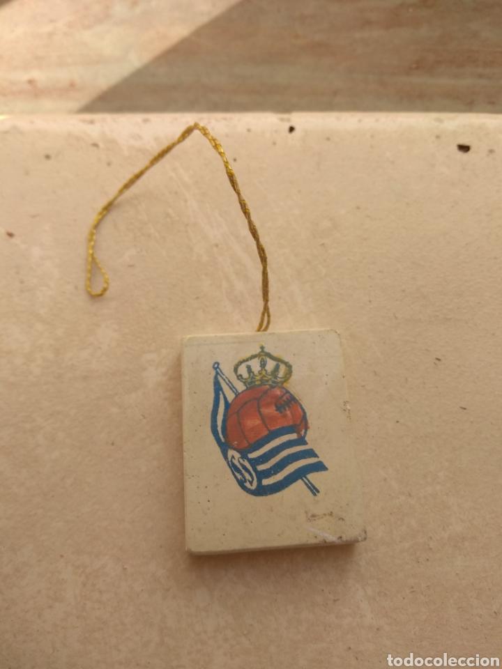 ANTIGUO AMBIENTADOR DE COCHE REAL SOCIEDAD (Coleccionismo Deportivo - Merchandising y Mascotas - Futbol)
