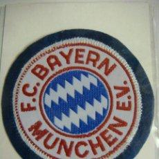 Coleccionismo deportivo: PARCHE DE FUTBOL DEL F.C.BAYERN MUNCHEN E.V.. Lote 136289525