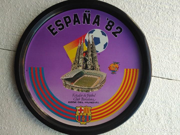 BANDEJA MUNDIAL DEL 82 (Coleccionismo Deportivo - Merchandising y Mascotas - Futbol)
