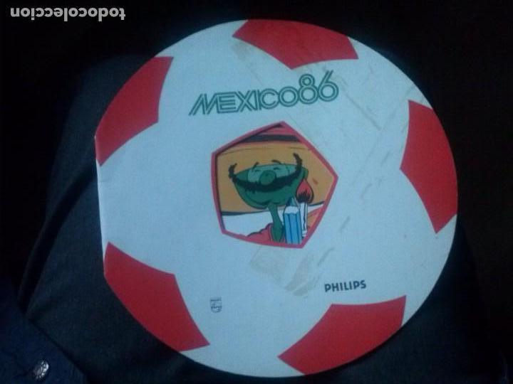 RARO PASATIEMPOS PATROCINADOS POR PHILIPS PARA EL MUNDIAL DE MEXICO DEL 86 DE 1984 (Coleccionismo Deportivo - Merchandising y Mascotas - Futbol)