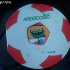 Coleccionismo deportivo: RARO PASATIEMPOS PATROCINADOS POR PHILIPS PARA EL MUNDIAL DE MEXICO DEL 86 DE 1984. Lote 112158091