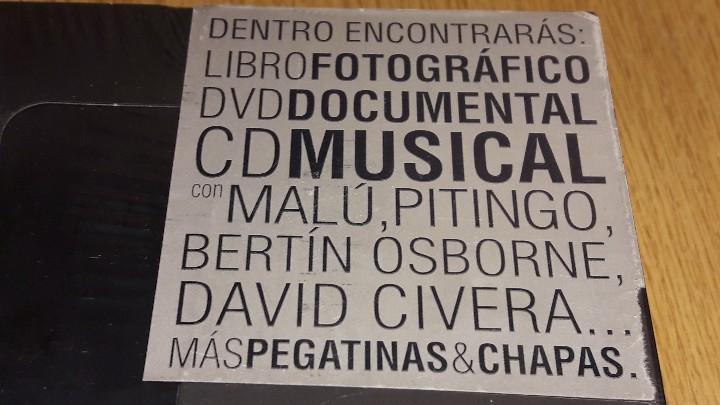 Coleccionismo deportivo: REALVOLUTION / CD + DVD + CHAPAS + ADHESIVOS + FOTO-LIBRO / PRECINTADO / LEER. - Foto 15 - 184259713