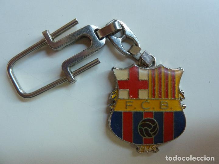 LLAVERO F.C. BARCELONA. CAMP NOU (Coleccionismo Deportivo - Merchandising y Mascotas - Futbol)