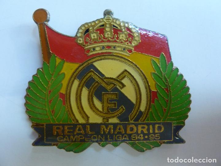 IMÁN DEL REAL MADRID CAMPEÓN DE LIGA 94.95 (Coleccionismo Deportivo - Merchandising y Mascotas - Futbol)