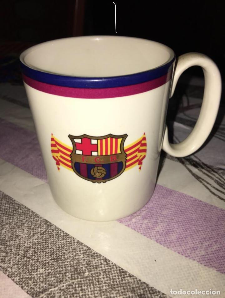 TAZA ANTIGUA FC BARCELONA (Coleccionismo Deportivo - Merchandising y Mascotas - Futbol)