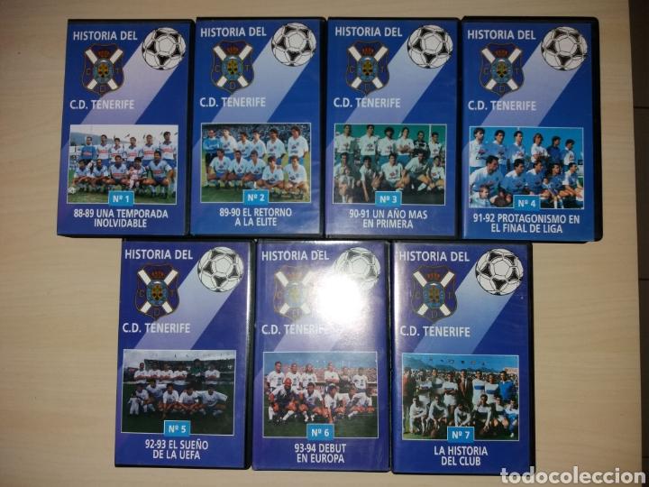 VHS - HISTORIA DEL CD TENERIFE (Coleccionismo Deportivo - Merchandising y Mascotas - Futbol)