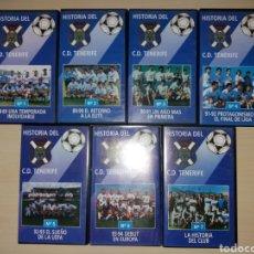 Coleccionismo deportivo: VHS - HISTORIA DEL CD TENERIFE. Lote 182587498