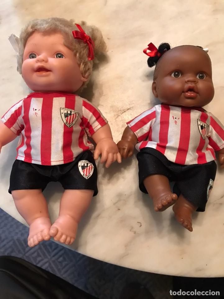 2 MUÑECAS DEL ATLETIC DE BILBAO (Coleccionismo Deportivo - Merchandising y Mascotas - Futbol)