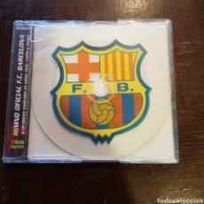 Coleccionismo deportivo: CD HIMNO DEL FCB FÚTBOL CLUB BARCELONA. BARÇA. Lote 114418588
