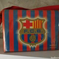 Coleccionismo deportivo: BOLSA NEVERA FC BARCELONA AÑOS 90 PROMOCIONAL. Lote 114746688