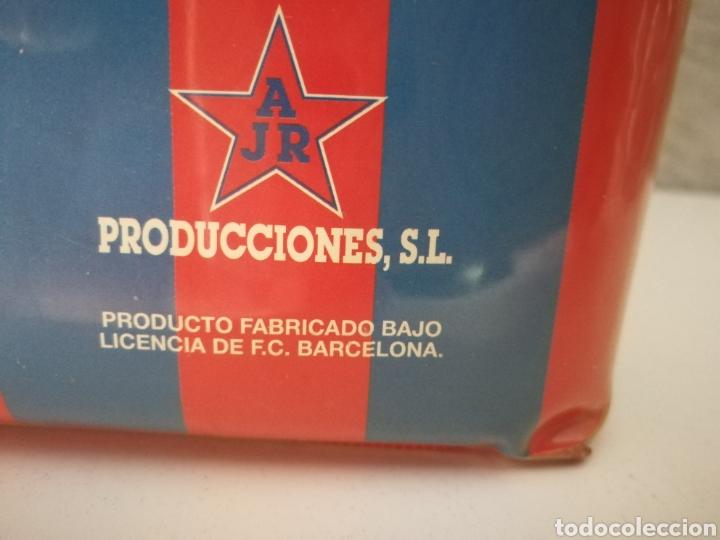 Coleccionismo deportivo: BOLSA NEVERA FC BARCELONA AÑOS 90 PROMOCIONAL - Foto 3 - 114746688