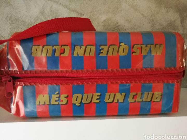 Coleccionismo deportivo: BOLSA NEVERA FC BARCELONA AÑOS 90 PROMOCIONAL - Foto 5 - 114746688