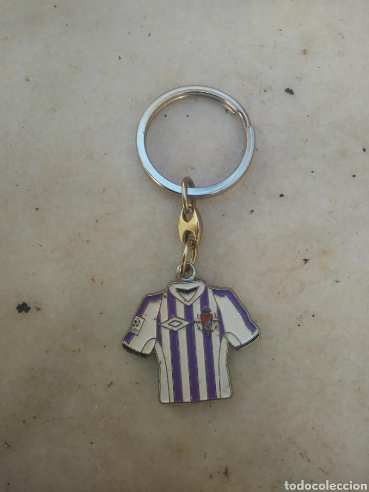 LLAVERO CAMISETA REAL VALLADOLID C.F (E) (Coleccionismo Deportivo - Merchandising y Mascotas - Futbol)