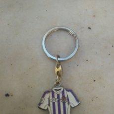 Coleccionismo deportivo: LLAVERO CAMISETA REAL VALLADOLID C.F (E). Lote 114817892