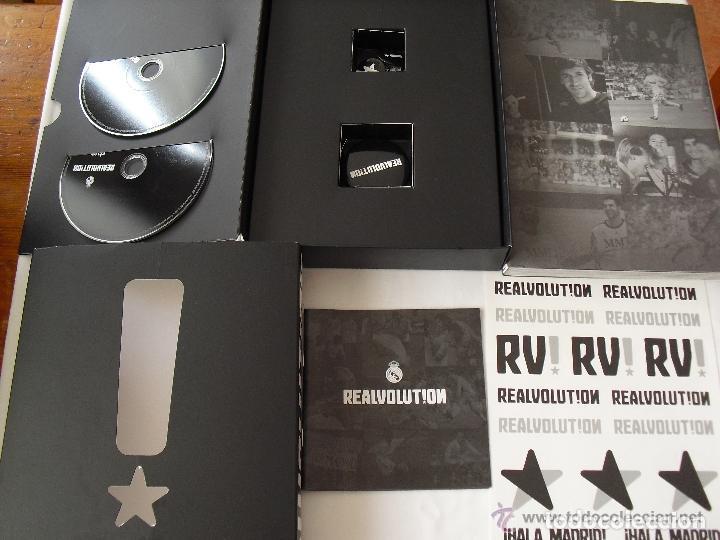 Coleccionismo deportivo: REALVOLUTION / CD + DVD + CHAPAS + ADHESIVOS + FOTO-LIBRO / PRECINTADO / LEER. - Foto 18 - 184259713
