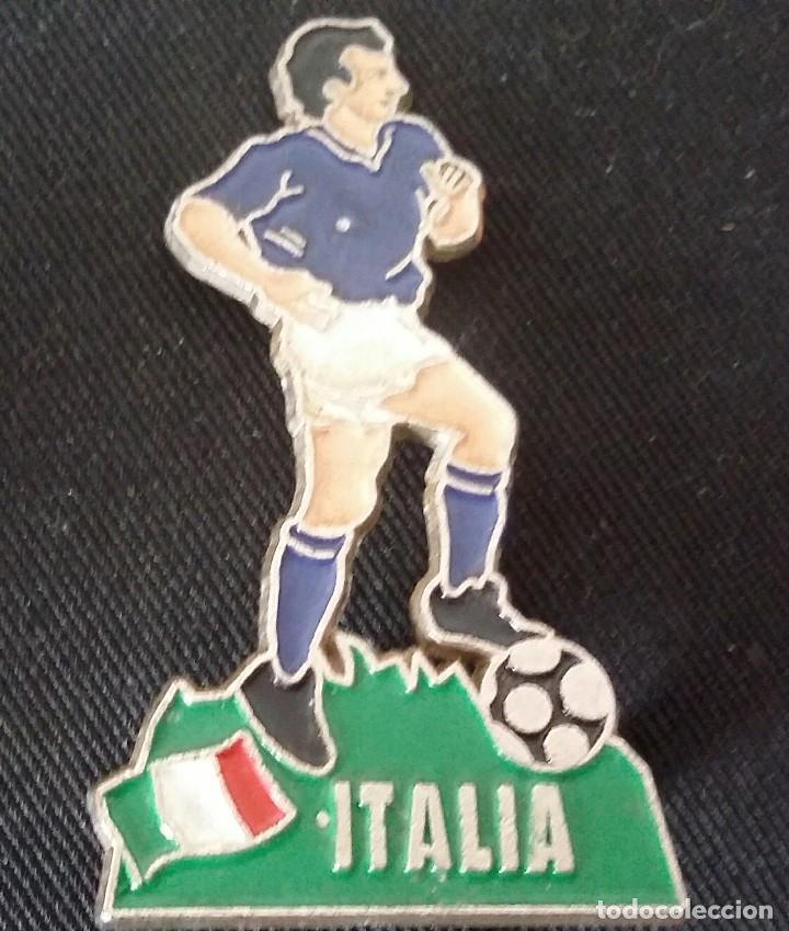 JUGADOR DE FÚTBOL DE METAL DE ITALIA DE LA EUROCOPA 1996 DE INGLATERRA. (Coleccionismo Deportivo - Merchandising y Mascotas - Futbol)