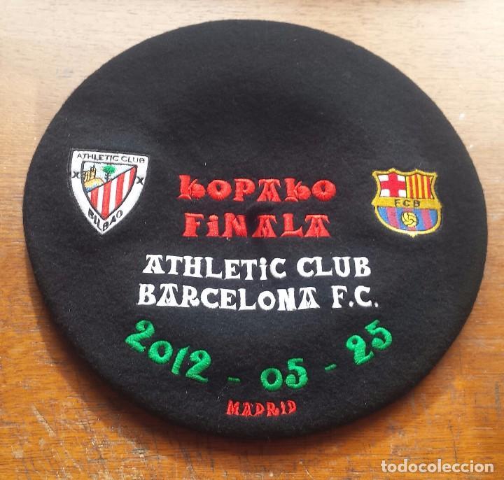 ATHLETIC CLUB BILBAO TXAPELA CONMEMORATIVA ( BORDADA ) (Coleccionismo  Deportivo - Merchandising y Mascotas - fc65ee0a918