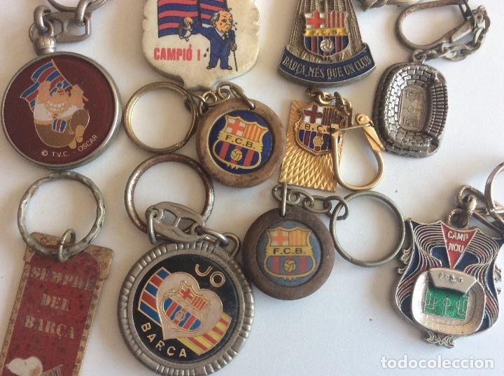 Coleccionismo deportivo: Lote llaveros del Barça - Foto 2 - 118381115