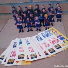 Coleccionismo deportivo: LOTE 24 FIGURAS FUTBOLISTAS FÚTBOL BARCELONA EL MUNDO DEPORTIVO CHUPA CHUPS . Lote 118727951