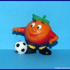 Coleccionismo deportivo: NARANJITO FIFA 1982 WORLD CUP SPAIN MASCOT PVC FIGURE BULLY FOOTBALL. Lote 118771179