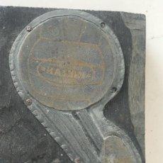 Coleccionismo deportivo: TROQUEL DE IMPRENTA INDIAN, FUTBOL 1920'S. . Lote 118874971