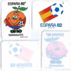 Coleccionismo deportivo: NARANJITO - MUNDIAL ESPAÑA 82 - PEGATINAS. Lote 119584463