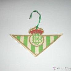 Coleccionismo deportivo: ESCUDO REAL BETIS (AMBIENTADOR PARA COCHE). Lote 119739423