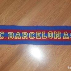Coleccionismo deportivo: BUFANDA FÚTBOL. FÚTBOL CLUB BARCELONA, AÑOS 80. Lote 122042271