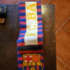 Coleccionismo deportivo: BUFANDA FC BARCELONA. BARÇA. NUEVA. Lote 122057222