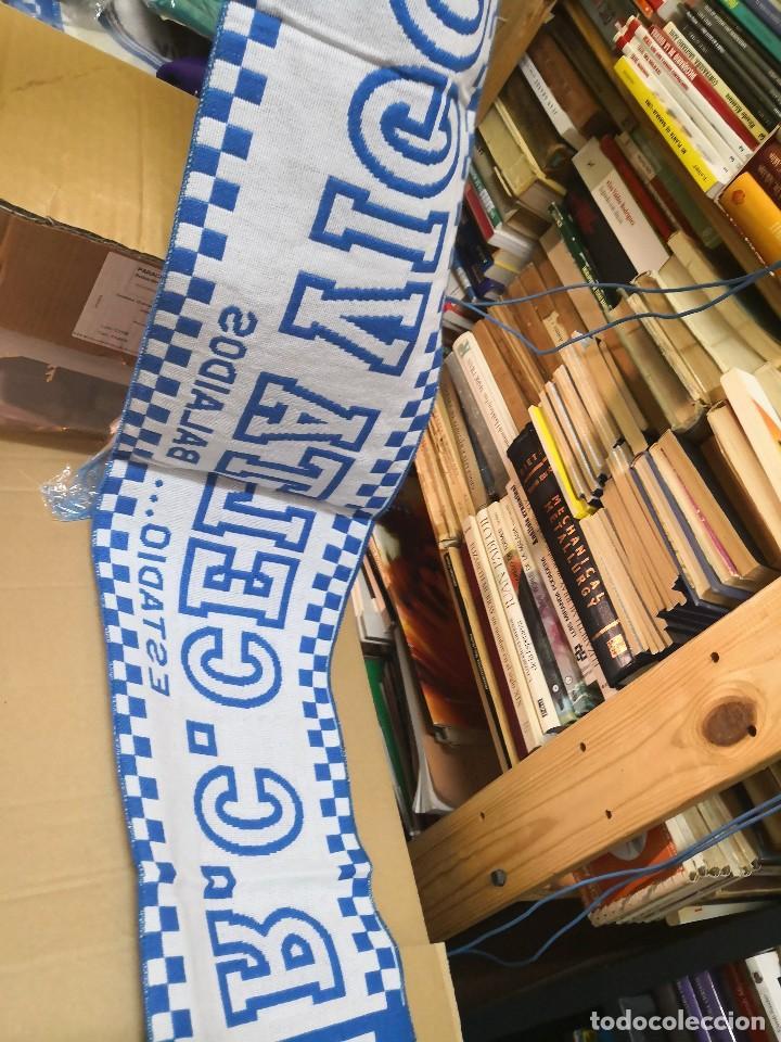 Coleccionismo deportivo: Bufanda R.Celta de Vigo. Nueva sin uso balaidos - Foto 2 - 122953275