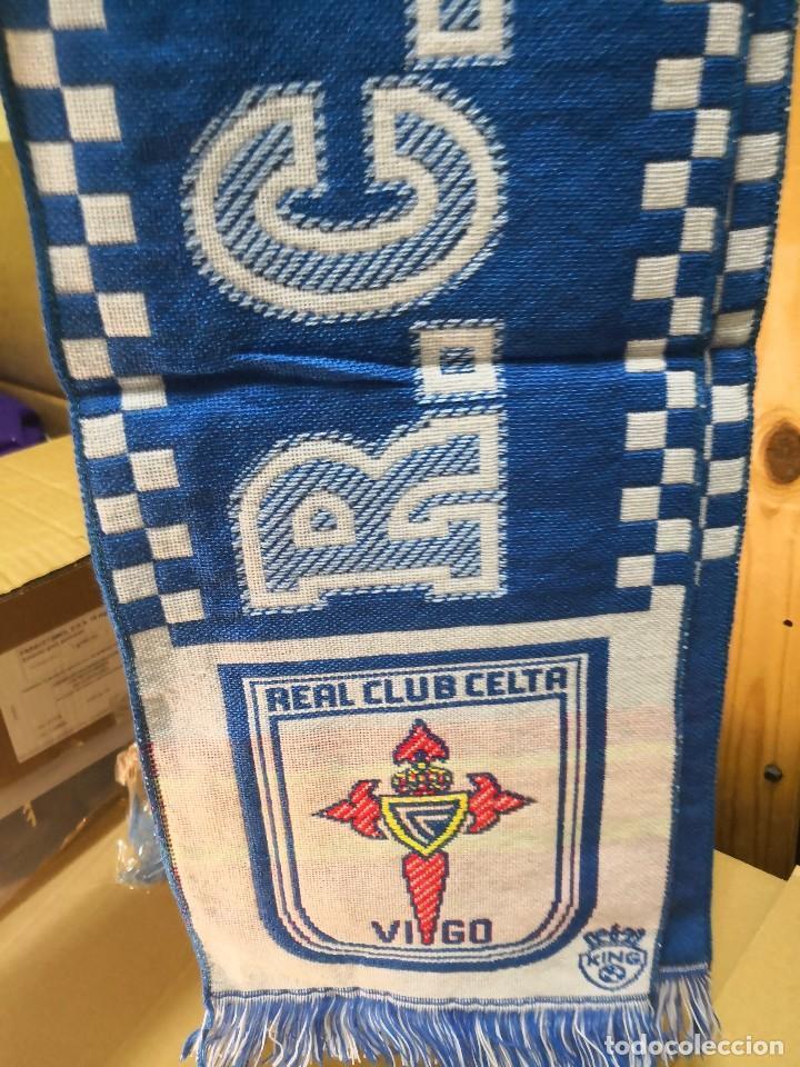Coleccionismo deportivo: Bufanda R.Celta de Vigo. Nueva sin uso balaidos - Foto 3 - 122953275