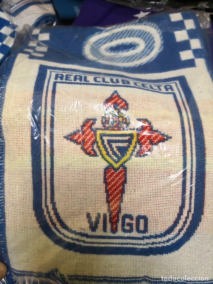 BUFANDA R.CELTA DE VIGO. NUEVA SIN USO BALAIDOS (Coleccionismo Deportivo - Merchandising y Mascotas - Futbol)
