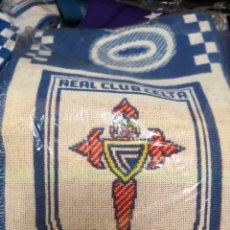 Coleccionismo deportivo: BUFANDA R.CELTA DE VIGO. NUEVA SIN USO BALAIDOS. Lote 122953343