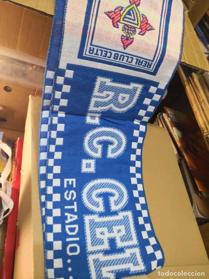 Coleccionismo deportivo: Bufanda R.Celta de Vigo. Nueva sin uso balaidos - Foto 3 - 122953343
