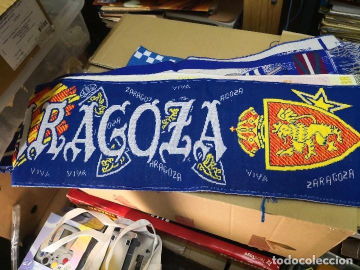 BUFANDA DE LA REAL ZARAGOZA NUEVA SIN USO, PRODUCTO OFICIAL, VIVA ZARAGOZA (Coleccionismo Deportivo - Merchandising y Mascotas - Futbol)